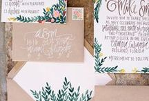 Paperie / Paper + stationary add that extra special touch to your communications. Get your inspiration here! xo