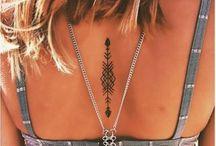 Tattoo Believe & spots / Believe and spots