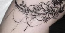 T a t t o o s / My tattoo inspirations + pretty ones.
