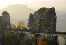 Fotoherbst  Sächsische Schweiz / Der Herbst in der Sächsisch-Böhmischen Schweiz ist ein Fest der Farben und des Lichtes.