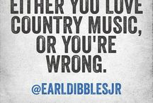Country music, love it
