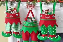 Christmas Inspiration / Christmas crafts, DIYs, ideas, patterns and inspiration