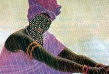 Orishas - Afro-Brazilian religions / The Orishas - the sacred powers of nature.
