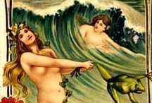 I was a mermaid / No siren did ever so charm the ear of the listener as the listening ear has charmed the soul of the siren. --Henry Taylor