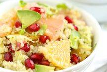 Koken: Licht & Gezond / Slaatjes, fruit en groenten, caloriearm, healthy food, powerfood, veggie,...