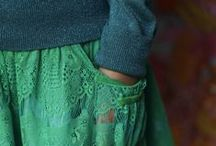 Naaien: Lente  & Zomer / Inspiratie, kleuren, jurkjes,...