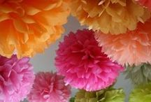 Decoratie: Party's & Kostuums / It's partytime! Decoratie, inspiratie, tutorials, verkleedkleren, themafeestjes,...