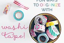 Washi Projects / Fun projects, ideas and inspiration for Washi Tape