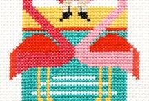 Embroidery and Cross Stitch / Embroidery and Cross Stitch patterns and inspiration