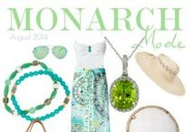 MONARCH MODE ~ Monarch Jewelry / Winter Park's luxury gemstone fashions of the month. |  Monarch Jewelry | 1860 Florida 436, Winter Park, Florida {showroom 407- 677-8354} | www.MonarchJewelryandArt.com #Orlando #Fashionblog