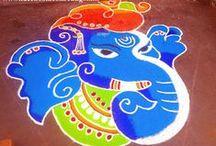 Ganesha Rangoli
