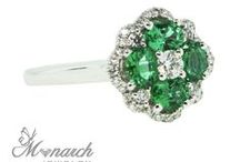 EMERALD Jewelry / Fine emerald jewelry from Monarch Jewelry in Winter Park, Florida.  Monarch Jewelry | 1860 Florida 436, Winter Park, Florida {showroom 407- 677-8354} www.MonarchJewelryandArt.com