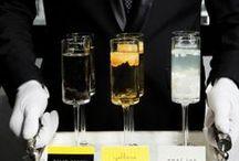 Gemstone Cocktails