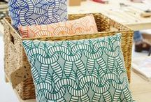Textile and fabric ideas / Bring your home to life with some amazing fabrics and textiles