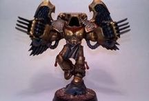 Blood Angels / Blood Angels painting inspiration