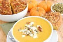 Fall Favorites / Fall is the season of smells, tastes, sounds and vibrations. Spiced wine, crackling leaves, faint fragrances of burning wood, trees bursting with orange, red and yellow leaves, crisp evenings, warm stews and soups.
