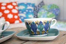 Scandinavian Pottery.. Figgjo Flint Turi Design