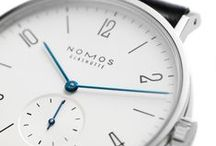 NOMOS Tangomat / Tangomat is the name of Tangente's big sister, which came on the market in 2005—and has since become a firm favorite. The dial and the case are basically the same as can be found on Tangente, just somewhat larger: The automatic caliber of this watch requires more room.