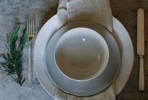 set the table / a dinner for two, gathering with friends...