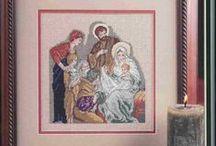 haft krzyżykowy - religijne