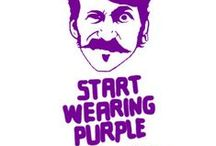 Whatshall: Violetti, lila, purppura. Start wearing purple