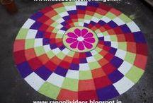 Geometric Rangoli Designs / geometric rangoli designs