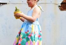 Lieveke & zus - made by you! / Jullie maakten Eryn's en Norah's Dresses