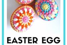 Easter Craft Ideas / Cute and easy craft and crochet ideas for Easter.