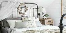 Vintage French Bedrooms / Vintage bedrooms