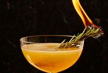 """Gorgeous Garnishes / A cocktail without a garnish is like a present without bow. It's serviceable but would be more desirable with a little flair. Taking inspiration from around the internet, we offer you some unique trends as well as """"how-to's"""" for the hottest trends in cocktail toppers."""