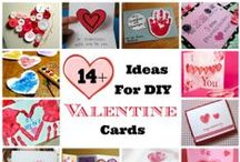 Valentine's Day Cards, Gifts, and Party Favors / Great creative ideas for DIY cards, gifts, and party favors for Valentine's Day.