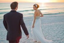 Wedding // Beach / Tying the knot in the sand.