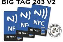 NFC: NTAG203 Universele NFC-tags / Dè universele NFC tag bruikbaar voor elke mobiele telefoon met NFC