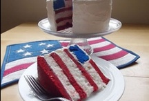 July 4th Patriotic Recipes / Great creative ideas for July 4th and patriotic recipes.