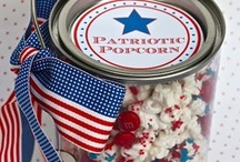 July 4th Patriotic Cards, Gifts, and Party Favors / Great creative ideas for DIY cards, gifts, and party favors for July 4th.