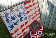 July 4th Patriotic Crafts / Great creative ideas for DIY July 4th and patriotic crafts.