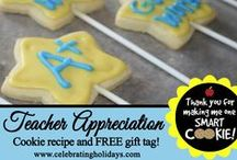 Teacher Appreciation / Great creative ideas and DIY gifts for teachers.