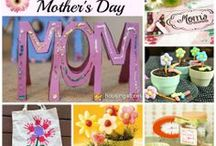 Mother's Day Card and Gift Ideas / Creative ideas and family traditions for celebrating Mother's Day.
