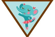 Brownie Dancer Badge Ideas / Requirements for Earning the Brownie Dance Badge-- Step 1: Warm up and get moving. Step 2: Try a new dance. Step 3: Take to the floor like a dancer. Step 4: Make up your own dance. Step 5: Show your moves! / by Brownie Girl Scout Badges