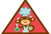 Brownie Home Scientist Badge Ideas / Requirements for earning the Brownie Home Scientist Badge -- Step1: Be a kitchen chemist. Step 2: Create static electricity. Step 3: Dive into density. Step 4: Make something bubble up. Step 5: Play with science. / by Brownie Girl Scout Badges