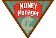 Brownie Money Manager Badge Ideas / Requirements for earning the Brownie Money Manager Badge:  Step 1: Shop for elf items with your doll.  Step 2: Go grocery shopping.  Step 3. Go clothes shopping.  Step 4. Get ready for school. Step 5. Have some fun. / by Brownie Girl Scout Badges