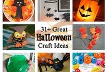 Halloween Crafts / Great ideas for creative DIY Halloween crafts.