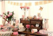 Candy Bar / Candy bar gourmands & décorés par Tanaga Weddings & Events, wedding planner & designer | Enjoy our decorated candy bars by Tanaga weddings & Events.