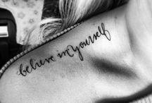 Ink / Tattoos / by Jasmine Dee Vimes