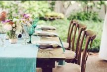 Capture the Tablescape / Our favorite images of beautifully presented tablescapes.