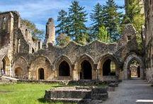 Abbayes, Cathédrales et Basiliques / Ce tableau contient la liste des Abbayes, Cathédrales et Basiliques que j'ai visité.