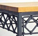 Wrought iron home decor by CREATIVE IRON / Artistic furniture. Unique. Handmade. Home decoration. Wrought iron. Iron table. Creative iron. Wrought iron table. Wrought iron coffee table, rugged furniture and home decor. www.creative-iron.com