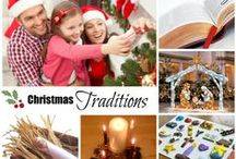Christmas Traditions / Great ideas for family traditions that make Christmas more meaningful.