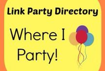 Blog Parties I Follow! / My Blog Parties I entered. Open to find party link.