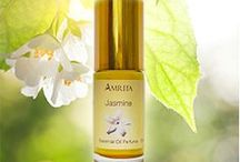 Amrita's Organic Perfumes / Amrita's certified organic perfumes pleasure the mind, heal the heart and awaken the spirit. Support your healthy lifestyle and well-being with perfumes made from pure, organic essential oils, organic jojoba oil and non-GMO vitamin E. Free of alcohol and toxic synthetic fragrances. With Amrita's delightful organic perfumes, you can indulge your passion for exquisite fragrances with no adverse side effects!